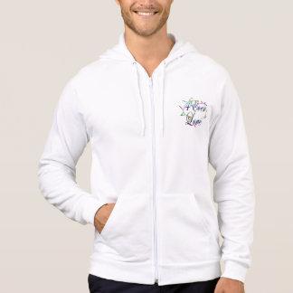 4Ever Love logo zip hoodie