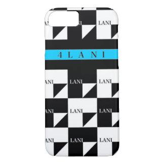 4LANI blue line iPhone 8/7 Case