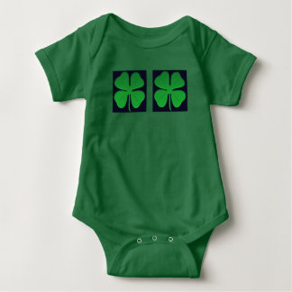 #4leafclover baby bodysuit by DAL