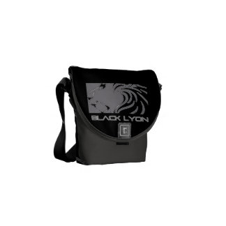 4m black armor Lyons iphone android Commuter Bag