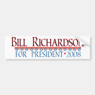 4prez-richardson bumper sticker