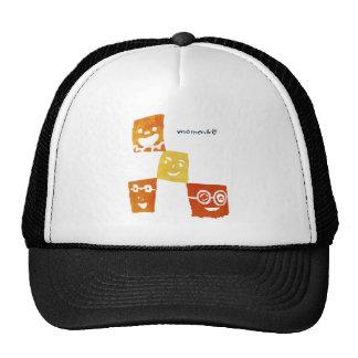 4smile - orange- cap