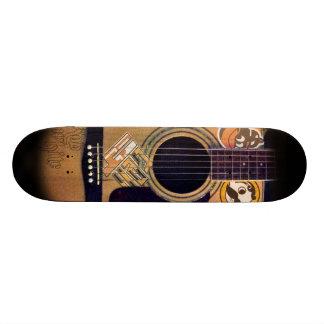 4ten: Bmore Guitar (Rob White) Skate Board Deck