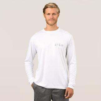4TEN White Sport-Tek Long Sleeve T-Shirt