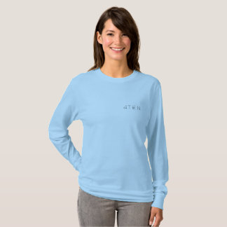 4TEN Womens Light Colours Long Sleeve T-Shirt