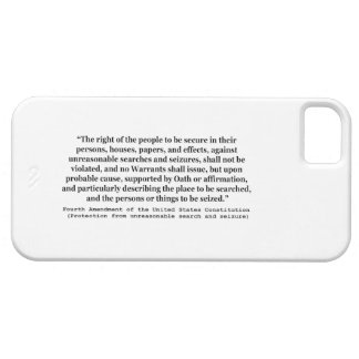4th Amendment of the United States Constitution iPhone 5 Case
