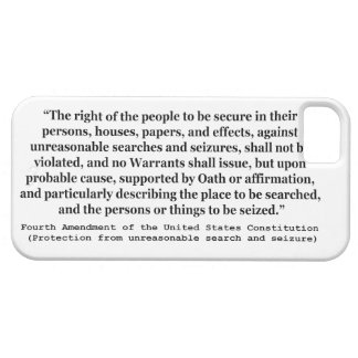 4th Amendment of the United States Constitution iPhone 5 Cover