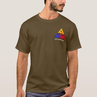 4th Armored Division Long Sleeve Tee