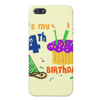 4th Birthday iPhone 5 Cases