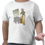 4th Birthday Safari T-shirt