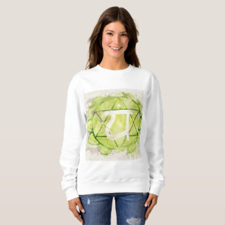 4th Chakra Heart Anahata Green Sweatshirt