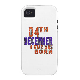 4th December a star was born Vibe iPhone 4 Cases