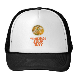 4th February - Homemade Soup Day Cap