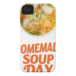 4th February - Homemade Soup Day iPhone 4 Case-Mate Cases