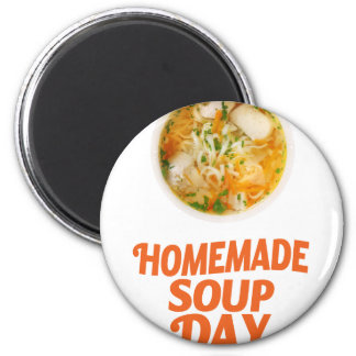 4th February - Homemade Soup Day Magnet