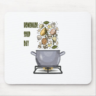 4th February - Homemade Soup Day Mouse Pad