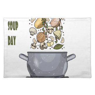 4th February - Homemade Soup Day Placemat