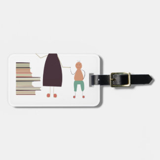 4th February - Take Your Child To The Library Day Luggage Tag