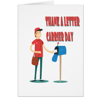 4th February - Thank A Letter Carrier Day Card