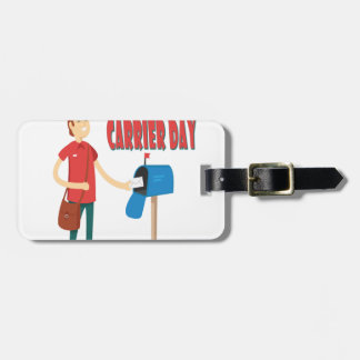 4th February - Thank A Letter Carrier Day Luggage Tag