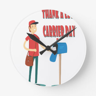 4th February - Thank A Letter Carrier Day Round Clock