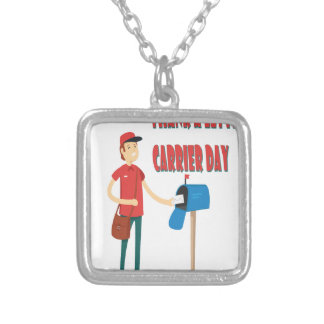 4th February - Thank A Letter Carrier Day Silver Plated Necklace