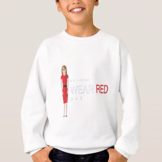 4th February - Wear Red Day - Appreciation Day Sweatshirt