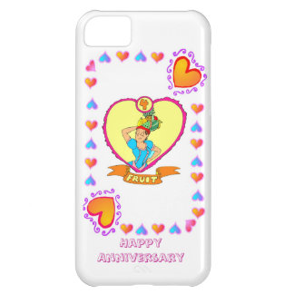 4th fruit wedding anniversary, iPhone 5C covers
