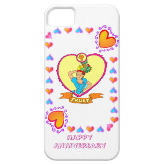 4th fruit wedding anniversary, iPhone 5 case