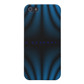 4th Generation Light Folds - Blue iPhone 5/5S Cover