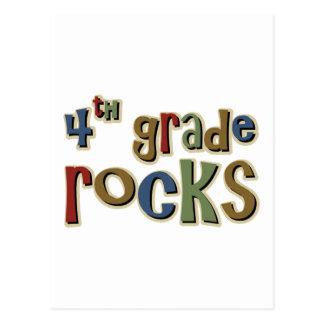 4th Grade Rocks Fourth Postcard