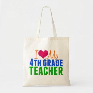 4th Grade Teacher Tote Bag