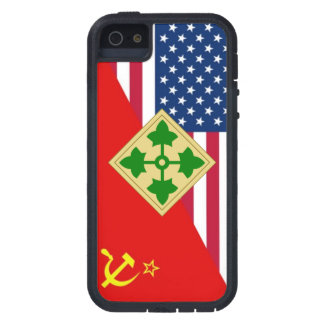 """4th Infantry Division """"Cold War"""" Paint Scheme iPhone 5 Covers"""