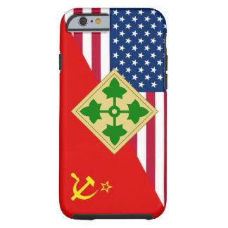 """4th Infantry Division """"Cold War"""" Paint Scheme Tough iPhone 6 Case"""