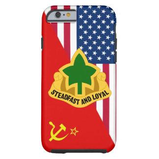 """4th Infantry Division DUI """"Cold War"""" Paint Scheme Tough iPhone 6 Case"""