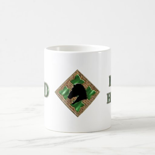 4th Infantry Division Iron Horse Mugs