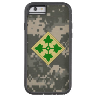 """4th Infantry Division """"Ivy Division""""  Digital Camo iPhone 6 Case"""