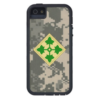 """4th Infantry Division """"Ivy Division"""" iPhone 5 Cover"""