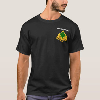 """4th Infantry Division """"Ivy Division"""" T-Shirt"""