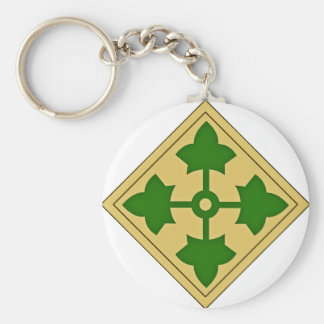 4th Infantry Division Key Ring