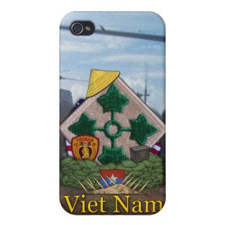 4th infantry division vietnam nam i iPhone 4 cover