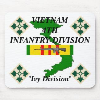 4th Infantry Vietnam Mousepad