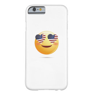4th July Emoji  National Independence Funny Gift Barely There iPhone 6 Case