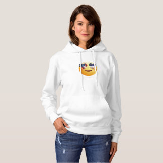 4th July Emoji  National Independence Funny Gift Hoodie