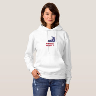 4th July Fourth of July  Cat Independence Day Hoodie