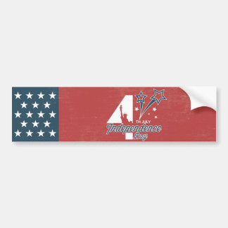 4th July independence day Bumper Sticker