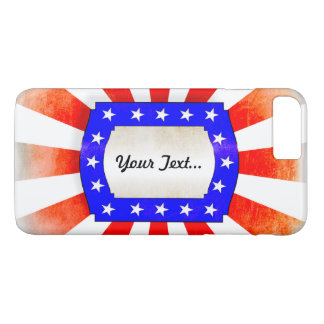 4th July Independence Day iPhone 8 Plus/7 Plus Case
