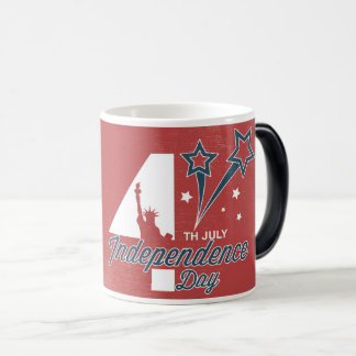 4th July independence day Magic Mug