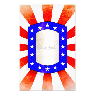 4th July Independence Day Custom Stationery