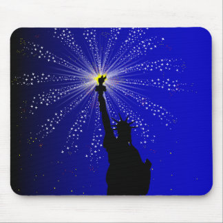 4th July Mouse Pad